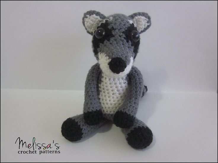 Roger the Raccoon ~ meet Roger! he like Precious the Panda, Pugsley the Pug, Mister the Tabby Cat all share one thing in common - a wardrobe. ~ you can find it elsewhere on this board ~ beginner level ~ you have to purchase the pattern for Mister but the wardrobe is free for you to download.  ~ CROCHET