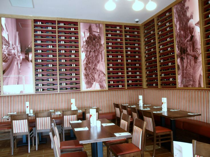 HP PVC-free Wall Paper for Cafe Eataliano