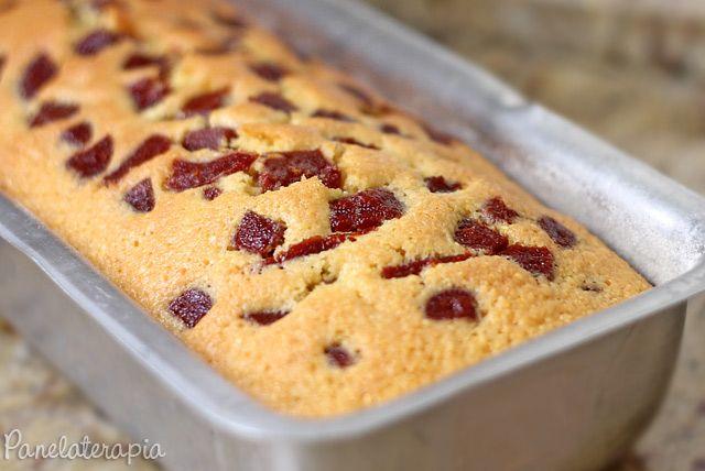 PANELATERAPIA - Blog de Culinária, Gastronomia e Receitas: Bolo de Milho com Goiabada