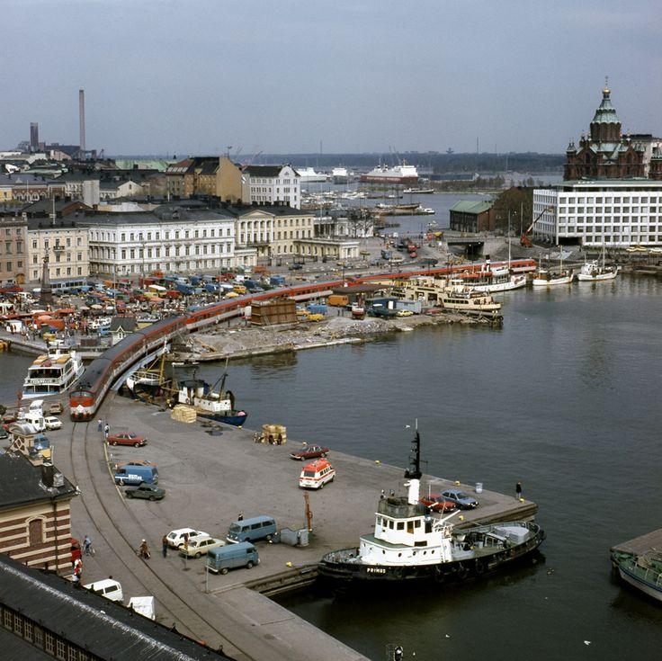 15.05.1980 / Helsinki kauppatori, välillä Helsinki Länsisatama–Katajanokka