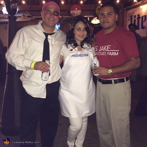jake flo and mayhem costume - Great Halloween Ideas