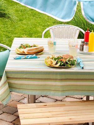 Great ways to organize your summer backyard party. #summer #party