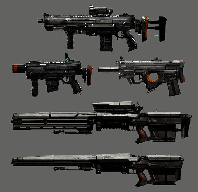 Weapon Concept Art Ryan Osga
