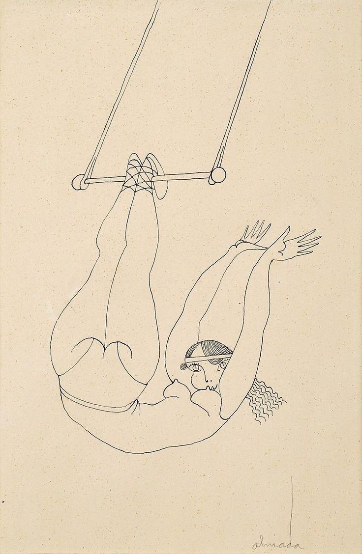 trapezista by almada negreiros (b. 1893 – 1907)