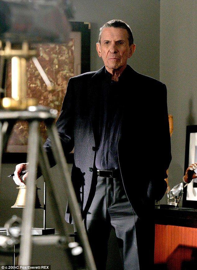 In demand: Leonard, pictured playing Dr. William Bell in a 2009 episode of the hit show Fringe