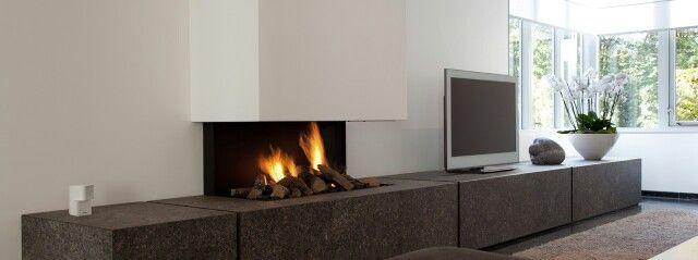 24 best images about idee n voor het huis on pinterest the dutchess tvs and living rooms - Deco moderne open haard ...