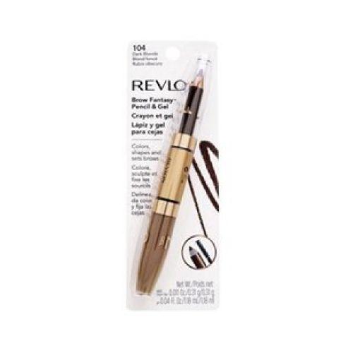 Revlon Revlon b fantasia lapiz de gel para cejas  blon El lapiz de gel para cejas revlon define y da estilo en dos pasos rápidos, el toque final para los ojos hermosos.