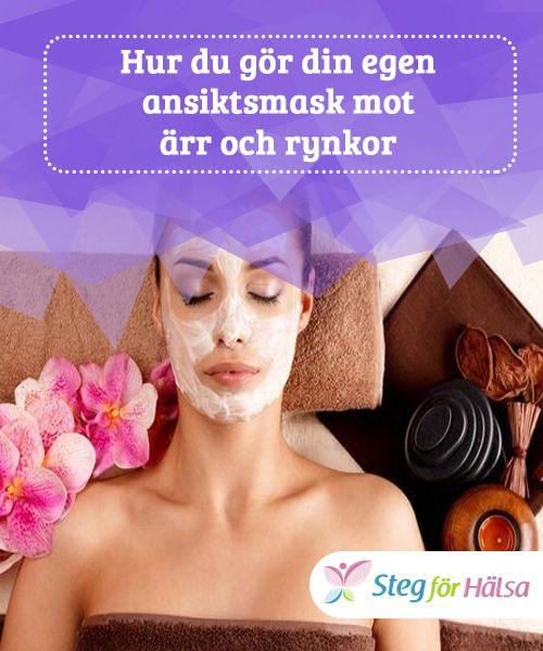 Hur du gör din egen ansiktsmask mot ärr och rynkor  #Med hjälp av isop kan du minska rynkor och ålderstecken i #ansiktet. Efter masken är det viktigt att applicera en #fuktgivande kräm för att #återfukta huden.