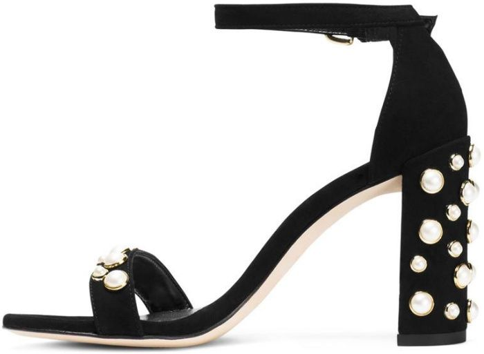 Stuart Weitzman Scandal Square-Toe Pumps