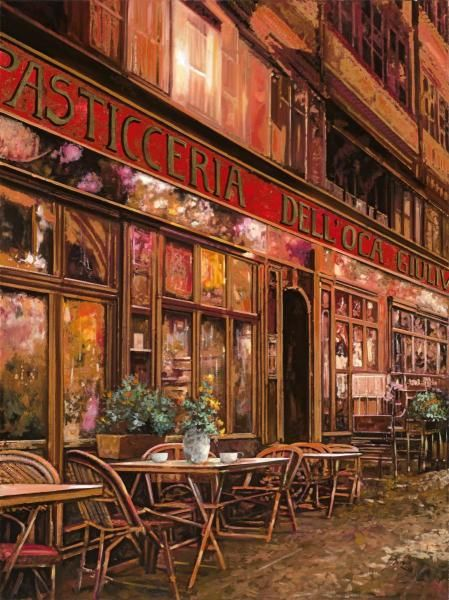 Guido Borelli - La Pasticceria dell'oca Giuliva - art prints and posters
