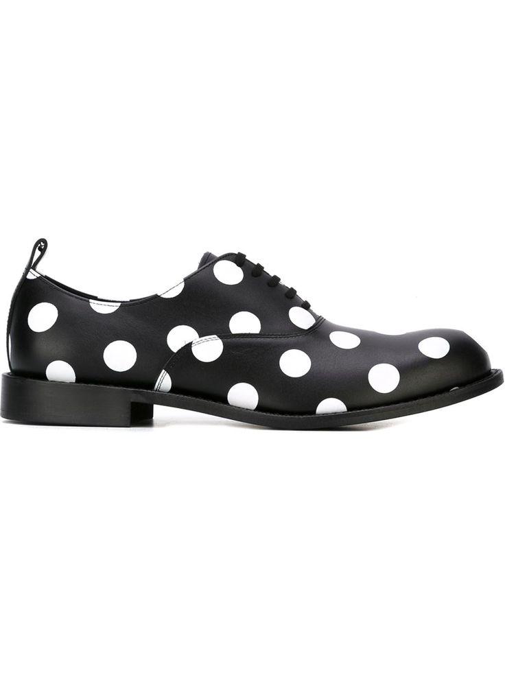 Comme Des Garçons Homme Plus туфли оксфорды в крупный горох
