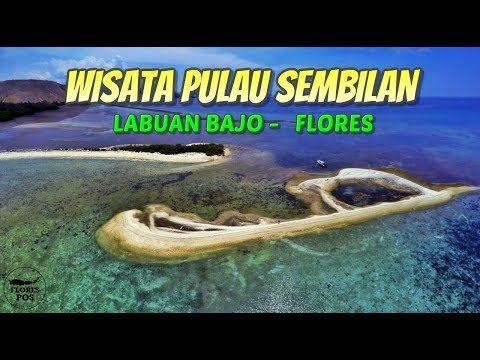 Inilah 9 fakta unik Pulau Sembilan atau pulau Mangiatan yang ada di Taman Nasional Komodo, Labuan Bajo, Flores, provinsi Nusa Tenggara Timur