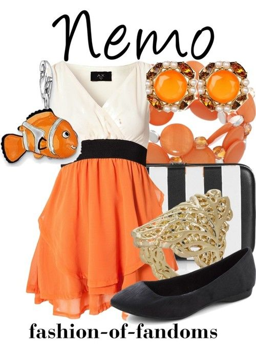 "If only I could pull off these colors....Tagged ""finding nemo"" 