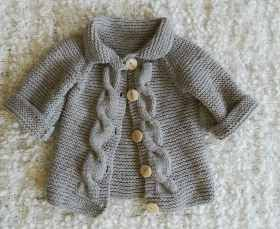 Tapado Saco Pocket |lana|baby Boutique - Tejidos Bebe Niños - $ 505,00