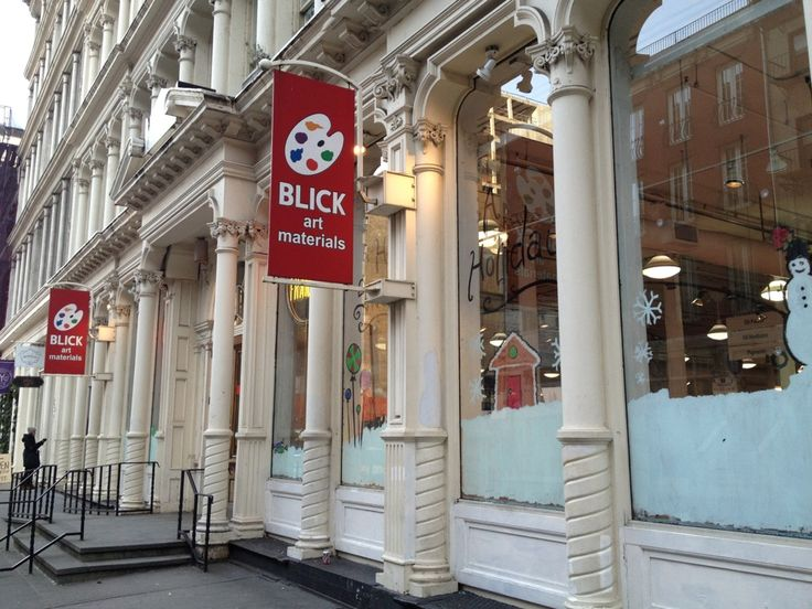 List and map of Dick Blick Art Materials in and around New York, NY including address, hours, phone numbers, and website.