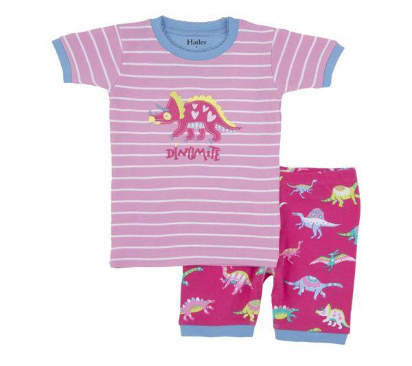 Pijama de dinosaurios niña - Todo Dinosaurios - La tienda del dinosaurio
