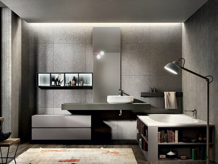 Nike bath collection | made in Italy by Agorà Group | designed by Marco Bortolin