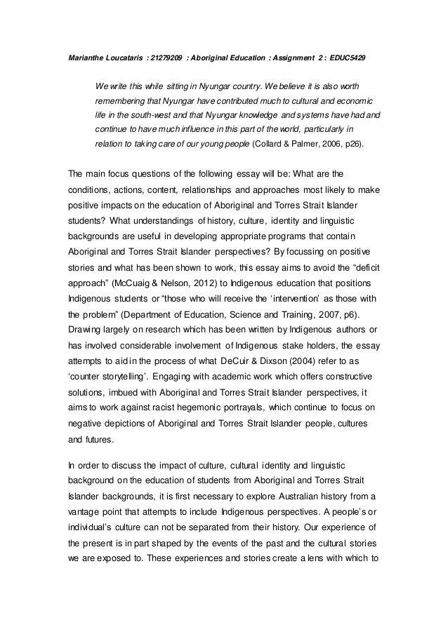 Aboriginal Education Essay On Topics Value Of College The Importance University