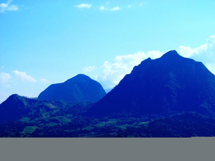 Montañas Antioquia Colombia