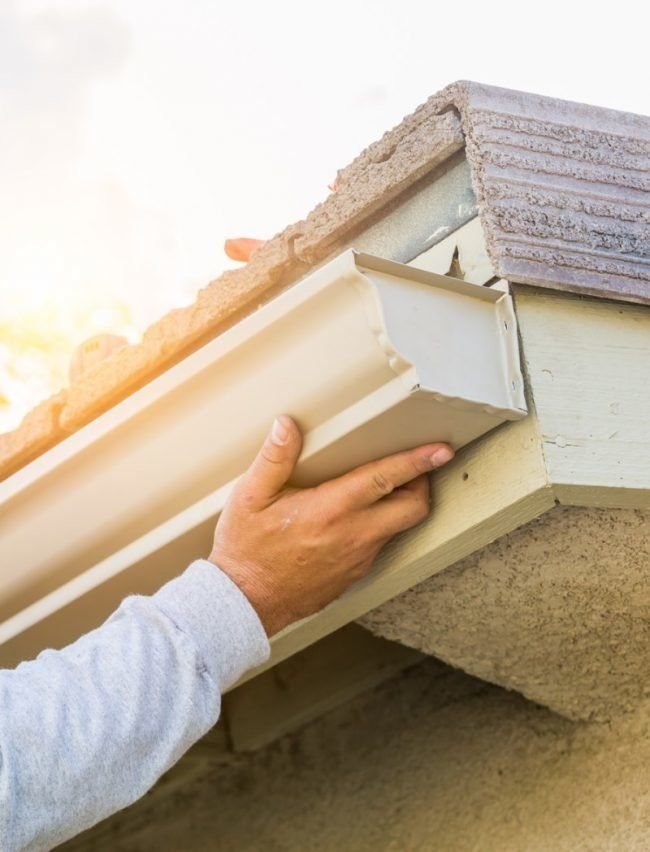 5 Types Of Rain Gutters To Consider For Your Home Diy Gutters Cleaning Gutters Gutter Screens