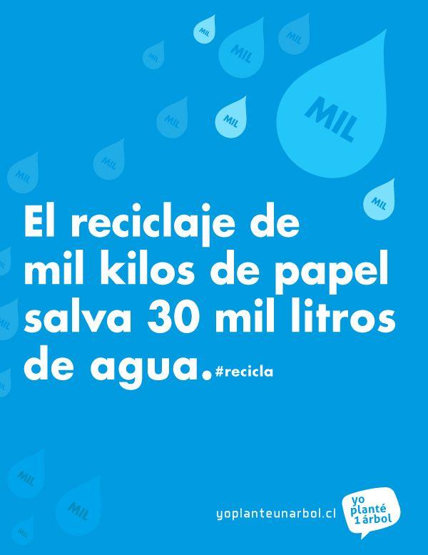 #reciclaje #agua
