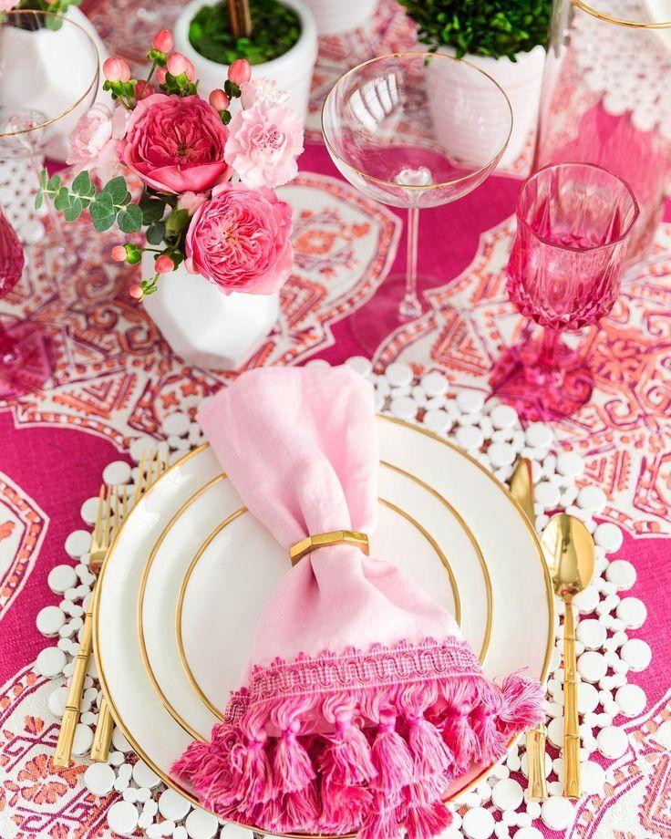 Weddings 826: Best 25+ Pink Table Settings Ideas On Pinterest