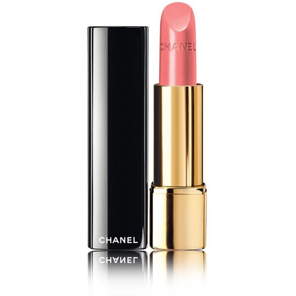 CHANEL ROUGE ALLURE - RÊVERIE PARISIENNEIntense Long-Wear Lip Colour ($36) ❤ liked on Polyvore featuring beauty products, makeup, lip makeup, lipstick, beauty, lip, huulipunat, chanel, lips lipstick and chanel lipstick