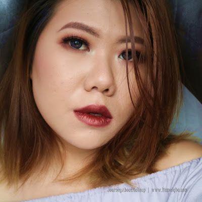 Zoya Cosmetics Metallic Lip Paint - Beatrix  #zoyacosmetics #metalliclipstick #metalliclipcream #beatrix