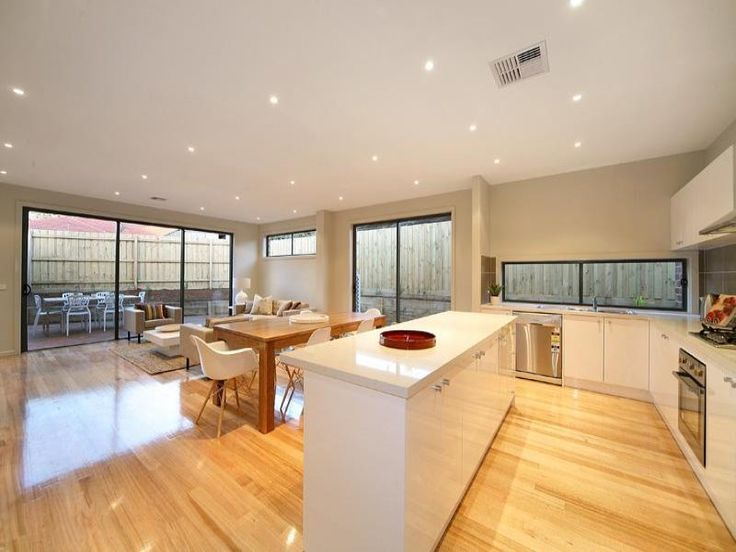 Light colours with light floorboards