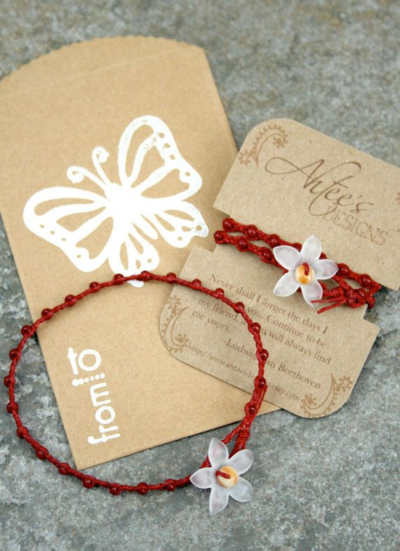 Friendship Bracelets packaging idea