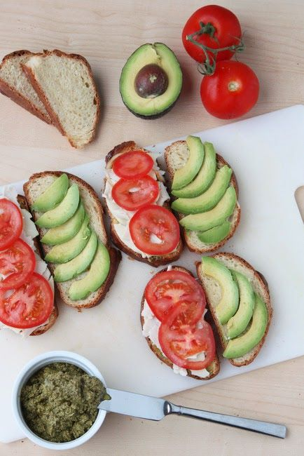 Avocado and Turkey Paninis with Ranch -- quick and delicious summer dinner
