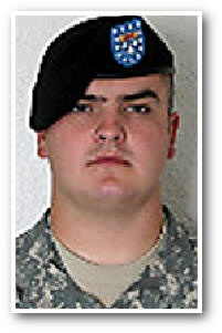 Army Pfc. Kyle G. Bohrnsen  Died April 10, 2007 Serving During Operation Iraqi Freedom  22, of Philipsburg, Mont.; assigned to the 2nd Battalion, 12th Infantry Regiment, 2nd Brigade Combat Team, 2nd Infantry Division, Fort Carson, Colo.; died April 10 in Baghdad of wounds sustained when his vehicle hit an improvised explosive device.