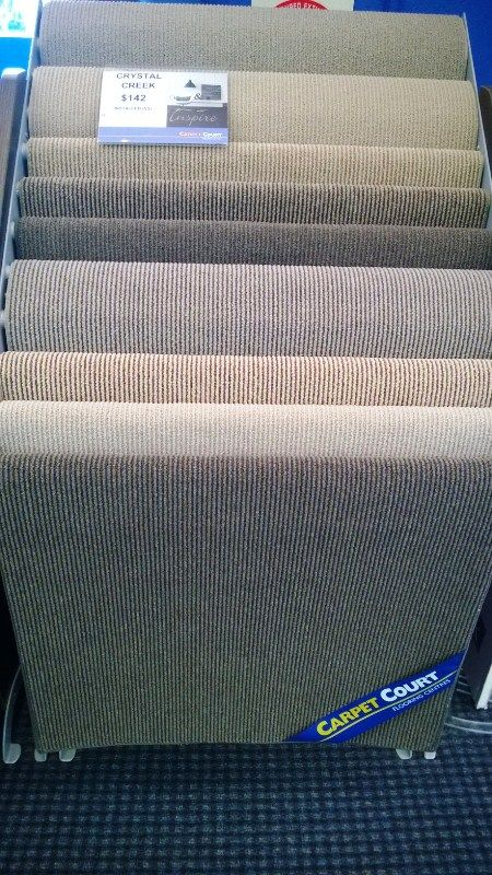 Crystal Creek Rental Carpet $144 installed 3.66 wide - Hard wearing Polypropylene