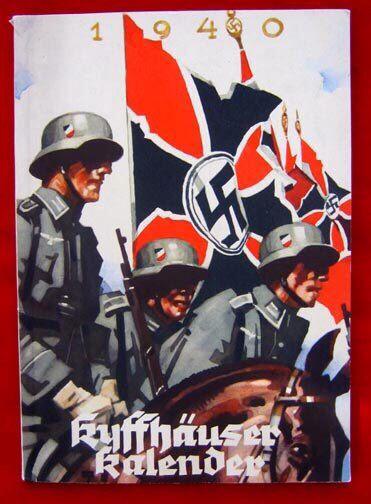 German WW2 Calendar
