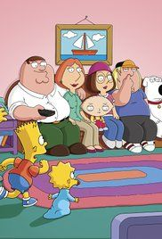 Family Guy Meets The Simpsons Watch Online. After fleeing Quahog due to Peter's misogynistic comic strip, the Griffins get their car stolen and end up getting stuck in Springfield.