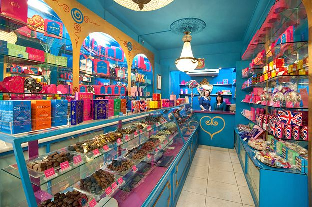 Prestat Chocolates in the UK and now in Manhattan, New York