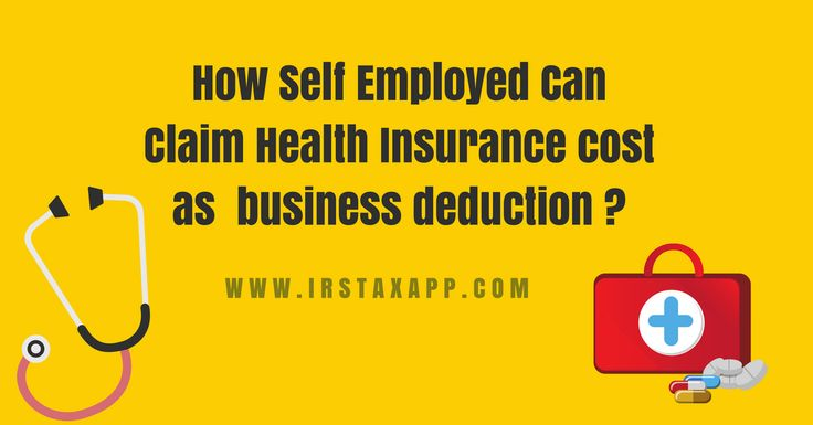 Self Employed Health Insurance Deduction Simplified Deduction