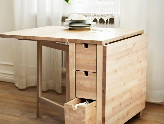 25 best ideas about table ronde on pinterest tables for Table ikea pliante