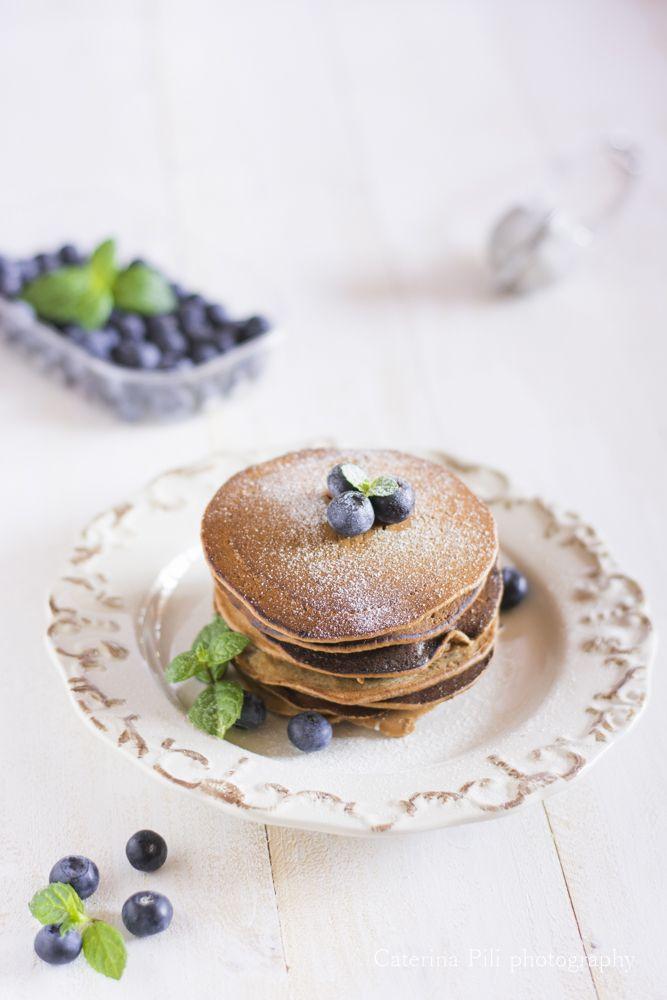 Semplicemente Light: Pancake integrali vegani