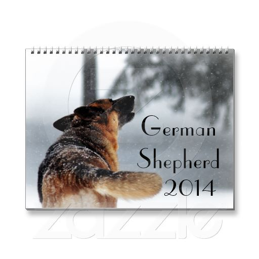 German Shepherd Dog 2014 Calendar