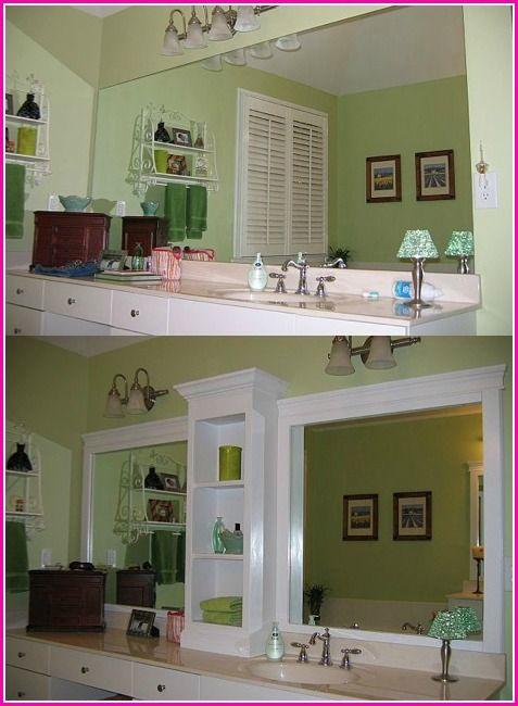 Source: http://www.hometalk.com/529173/revamp-that-large-bathroom-mirror