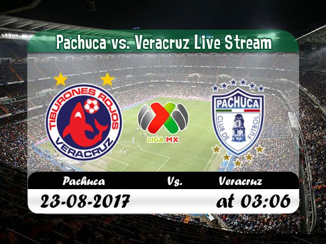 live footballstreaming free online espn | #Liga_MX | Pachuca vs. Veracruz |  live stream | 23-08-2017
