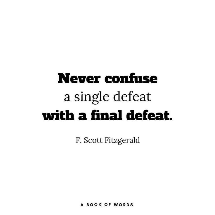 Tag someone Quote of the day by F. Scott Fitzgerald