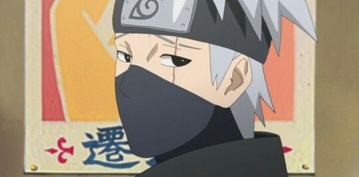 Kakashi ♡♡♡ Look at does eyes !