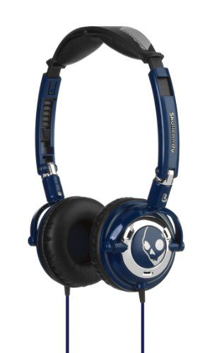 Skullcandy Lowrider Headphones S5LWDZ-131 (Navy/Chrome) Skullcandy