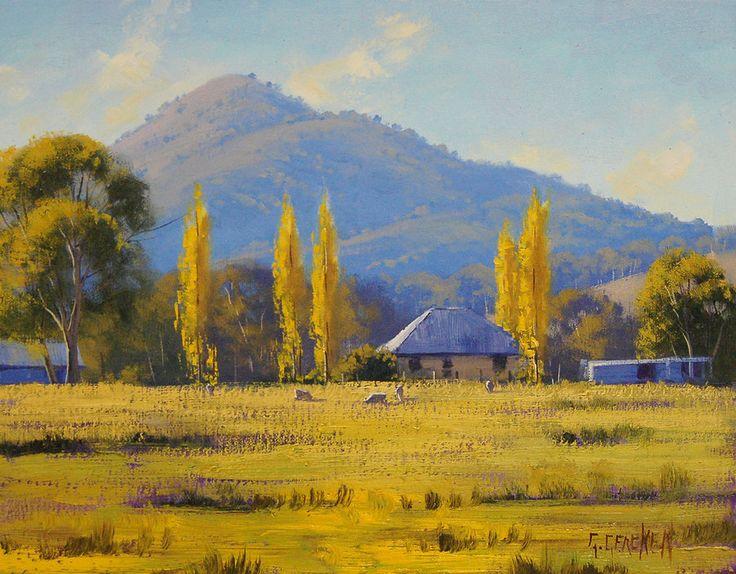 Australian Sheep Farm by artsaus.deviantart.com