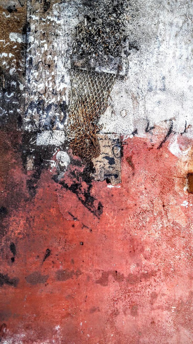 Mots et terres... Peinture de Mehdi Bourkia