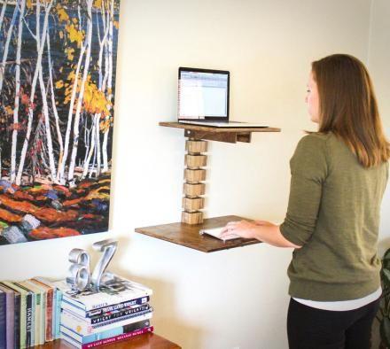45 best Standing Desk images on Pinterest Woodwork Standing