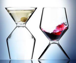 2-In-1 Martini Wine Glass #LavaHot http://www.lavahotdeals.com/us/cheap/2-1-martini-wine-glass/134541