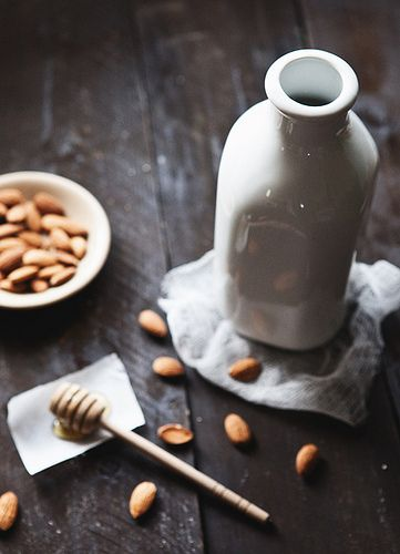 For a more nutritious breakfast, make your own almond milk! It has all the benefits of this delicious nut in a creamy, rich drink!